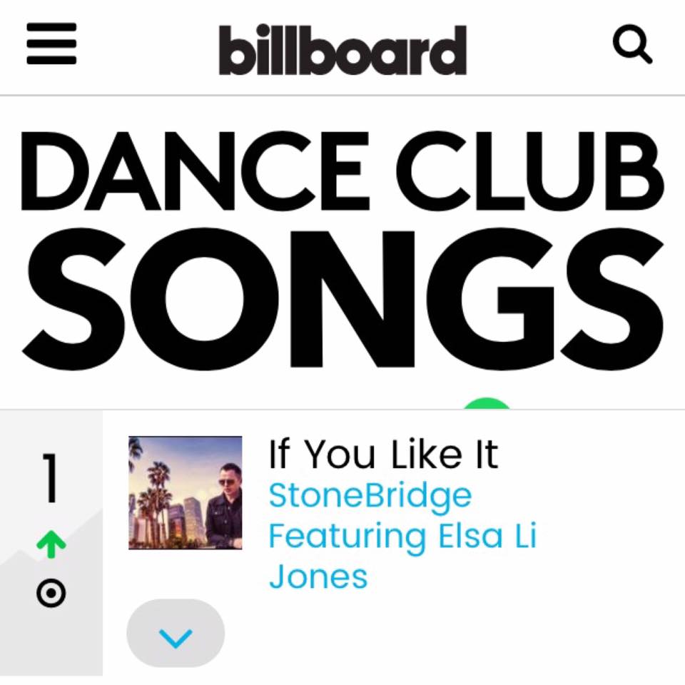 stonebridge elsa li jones billboard chart #1