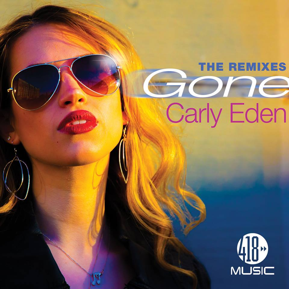 carly eden gone, the remixes iTunes cover art