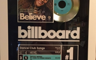 crystal-waters-number-1-billboard-plaque